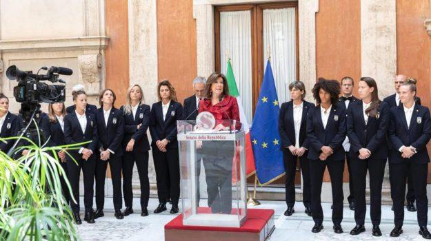 azzurre, mondiale calcio femminile, Sicilia, Sport