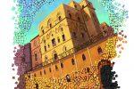 Palermo, 50 fumettisti disegnano palazzo Reale: il raduno nel cortile Maqueda