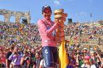 Richard Carapaz, vincitore dell'ultima edizione del Giro d'Italia