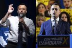 Tregua armata tra Salvini e Di Maio per scongiurare la crisi di governo, ma Mattarella chiede chiarezza
