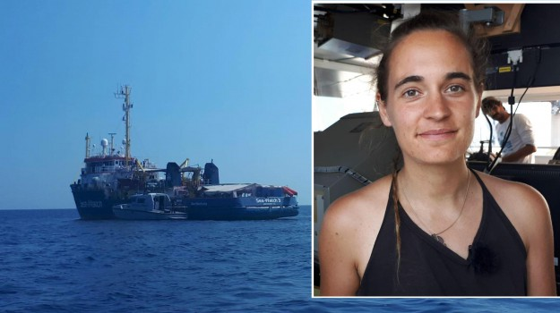 lampedusa, migranti Sea Watch, sea watch, Carola Rackete, Matteo Salvini, Sicilia, Cronaca