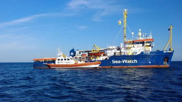 migranti, sea watch, Giuseppe Conte, Matteo Salvini, Sicilia, Cronaca