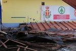 Crolla il tetto della piscina del complesso Cappuccini a Messina, l'impianto era chiuso da giorni - Foto