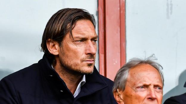 conferenza totti, roma, Francesco Totti, Sicilia, Sport
