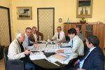 La riunione tra i vertici dell'Anas e l'assessore alle Infrastrutture Falcone