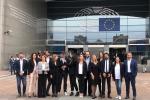 La delegazione del Movimento 5 Stelle a Bruxelles