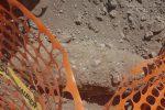 Ordigno bellico nel cantiere a Messina, sopralluogo per la rimozione - Foto
