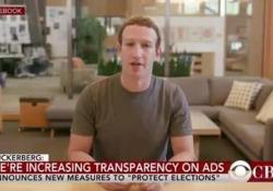 """«Chi controlla i dati, controlla il futuro»: il falso video di Zuckerberg Il video è stato diffuso da due artisti su Instagram. Un po' provocazione, un po' iniziativa pubblicitaria, riapre il dibattito sui video falsi creati con il machine learning, detti """"deepfake"""" - CorriereTV"""