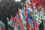 """Reggio, Cgil-Cisl-Uil: """"Occorre un cambio di passo, sabato manifestazione a Piazza Italia"""""""