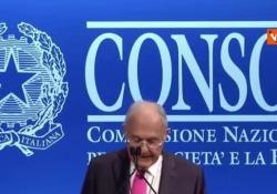 """Consob, Savona: """"Bund tedesco è sistema asimmetrico"""" L'incontro Annuale con il Mercato Finanziario - CorriereTV"""