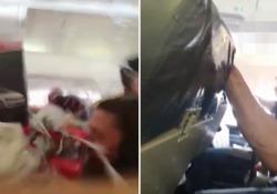 «Credevamo di morire»: forti turbolenze sul volo verso Basilea. Panico e 10 feriti L'aereo era decollato da Pristina. Tra i 121 passeggeri ci sono stati attimi di terrore - CorriereTV