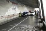 Gioiosa Marea, chiuso un tratto della statale 113 per un crollo in galleria