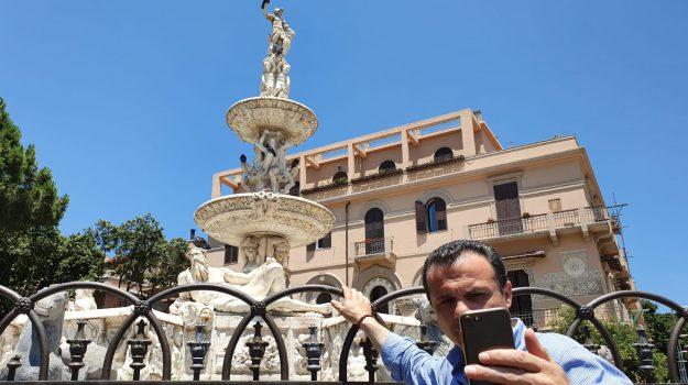 fontana di orione, Cateno De Luca, Messina, Sicilia, Cronaca