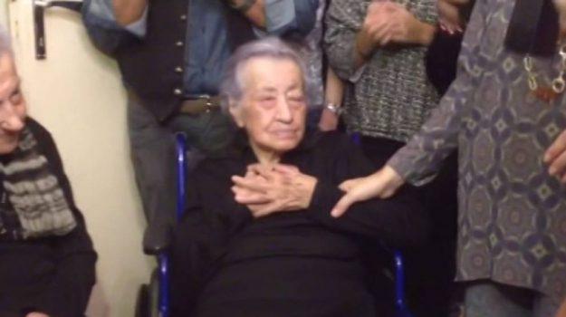 canicattì, donna più anziana, Diega Cammalleri, Sicilia, Cronaca