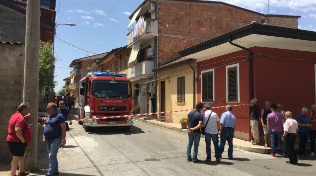 esplosione paravati, Catanzaro, Calabria, Cronaca
