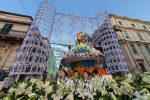 Messina omaggia Sant'Antonio, folla oceanica di fedeli alla processione del Carro trionfale - Foto