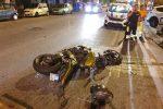 Messina, incidente auto-moto tra piazza Bellini e corso Cavour: ferito un calabrese