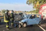 Incidente stradale a Sellia Marina, coinvolte quattro auto: feriti