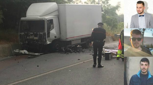 incidente mortale, incidente soriano calabro, incidente stradale vibo valentia, Giammarco Nesci, Natale Chiera, Salvatore Farina, Catanzaro, Calabria, Cronaca