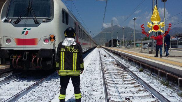 incidenti, praia a mare, treno, Cosenza, Calabria, Cronaca
