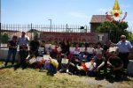 Vigili del fuoco al servizio della formazione: incontri con gli alunni delle scuole di Vibo - Foto