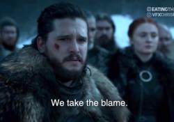 Jon Snow «chiede scusa» per l'ultima stagione di Game of Thrones Il (divertente) video è però un deepfake, manipolato attraverso l'intelligenza artificiale - CorriereTV