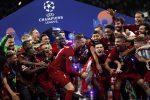Apre Salah chiude Origi, il Liverpool alza la sesta Champions