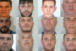 """Traffico di droga nelle piazze catanesi, """"ostaggi"""" dei clan per garantire i pagamenti: 12 arresti - Nomi e foto"""