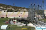 Ligabue a Messina, fervono i preparativi per il concerto: ecco il palco su cui si esibirà - Foto