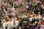 Messina, l'omaggio dei fedeli alla processione del Vascelluzzo nel giorno del Corpus Domini - Foto