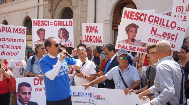 decreto calabria, protesta, sanità, Alessia Bauleo, Genanfio Lamberti, Calabria, Politica