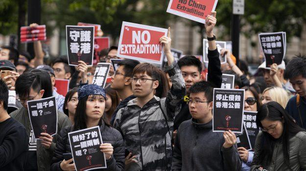 estradizione cina, protesta hong kong, Sicilia, Mondo