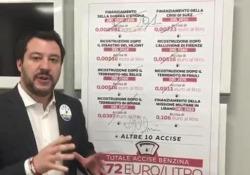 Salvini: «Toglierò le accise» Prima delle elezioni del 4 marzo 2018, il capo delle Lega, oggi vicepresidente del Consiglio e ministro dell'Interno del governo Conte, prometteva di eliminare i balzelli sui carburanti - CorriereTV