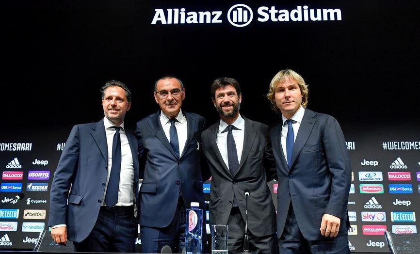 "Juventus, inizia l'era Sarri: ""Felice di essere qui, è il ..."