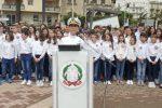 Festa della Repubblica a Messina, l'inno nazionale cantato dai ragazzi della scuola Evemero - Video