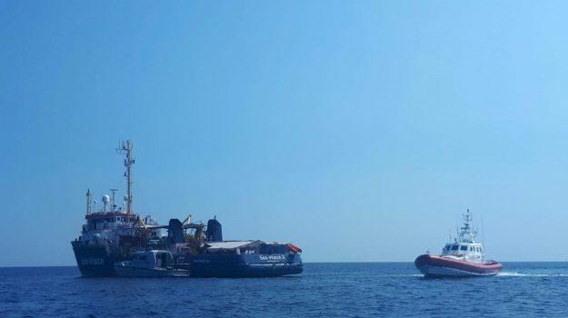 lampedusa, migranti, sea watch, Carola Rackete, Matteo Salvini, Sicilia, Cronaca