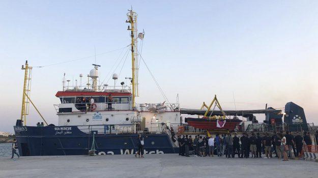 lampedusa, migranti, sea watch, angela merkel, Carola Rackete, Giuseppe Conte, Matteo Salvini, Sicilia, Politica