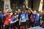 Messina regina del tennis tavolo: la Top Spin si laurea campione d'Italia - Video
