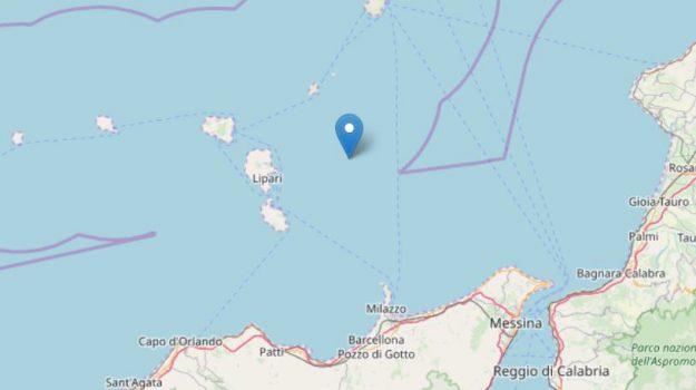 eolie, ingv, stretto di messina, terremoto, Messina, Sicilia, Cronaca