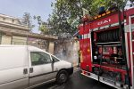 Incendio in un'abitazione, momenti di paura nel rione Ogliastri a Messina - Foto