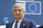 """Regionali in Calabria, Tajani: """"Sul nostro candidato Berlusconi troverà una soluzione"""""""