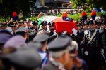 Funerali del carabiniere ucciso