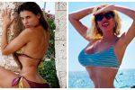 Foto sui social troppo ritoccate? La risposta ironica di Elisabetta Canalis ed Alessia Marcuzzi