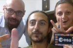 Lancio di Beyond nello spazio, il video divertente del countdown degli amici di Luca Parmitano