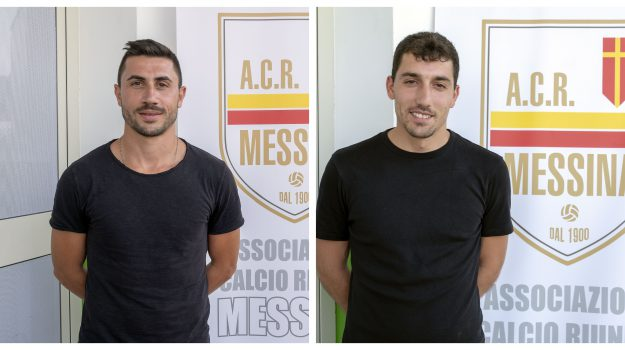 acr messina, calcio, Alessandro Fragapane, Antonio Crucitti, Messina, Sicilia, Sport