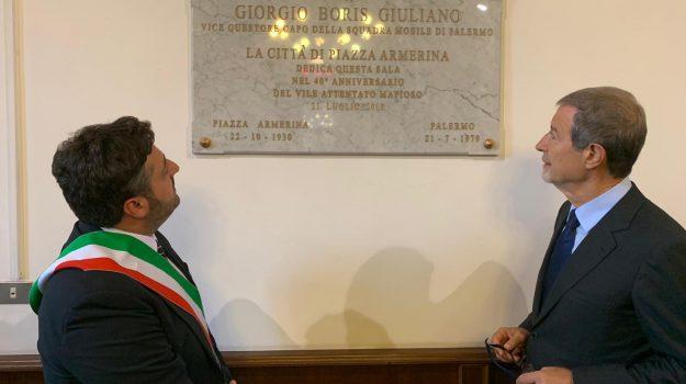 piazza armerina, Boris Giuliano, Nello Musumeci, Sicilia, Politica