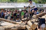 """Vittorio Brumotti inaugura il """"Bike Park"""" a Gambarie: le foto"""