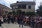Corteo di moto e lutto cittadino, a Cessaniti l'ultimo saluto a Nicola Barbieri - Video
