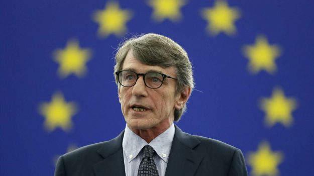parlamento europeo, ue, Davide Sassoli, Sicilia, Politica