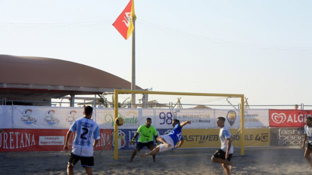 beach soccer, Messina, Sicilia, Sport